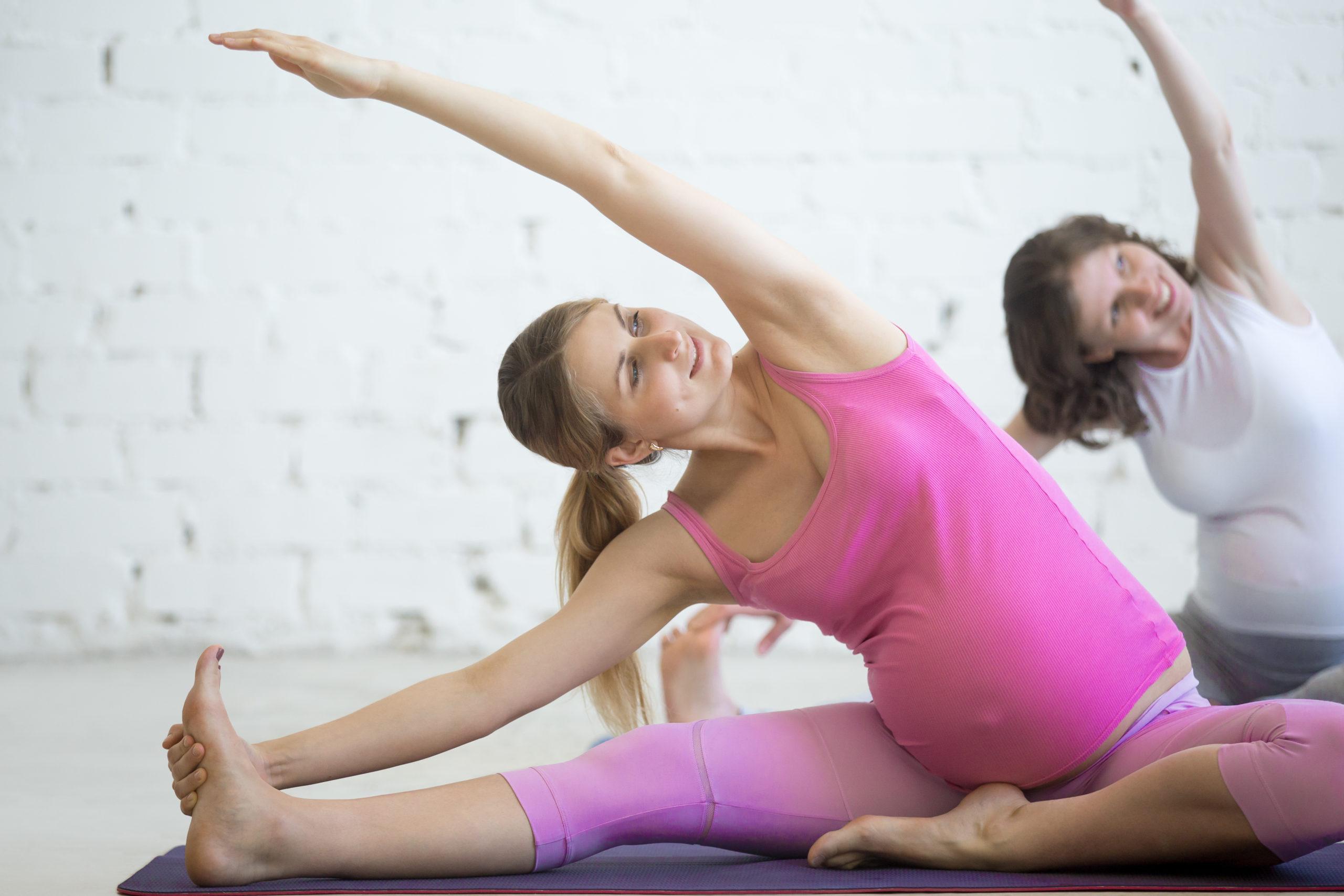 El Yoga en el Embarazo